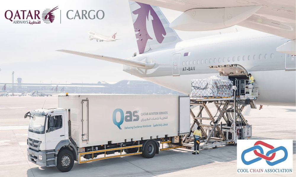 Qatar Airways Cargo joins Cool Chain Association to increase sustainability