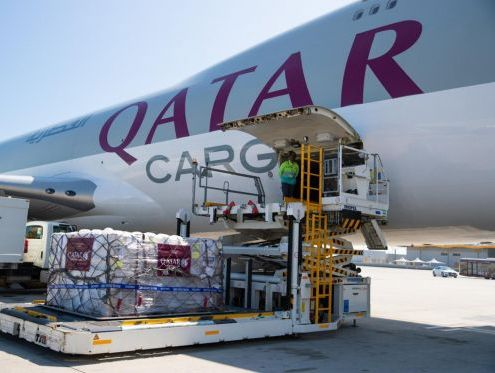 Qatar Cargo to transport humanitarian aid, medical supplies for free
