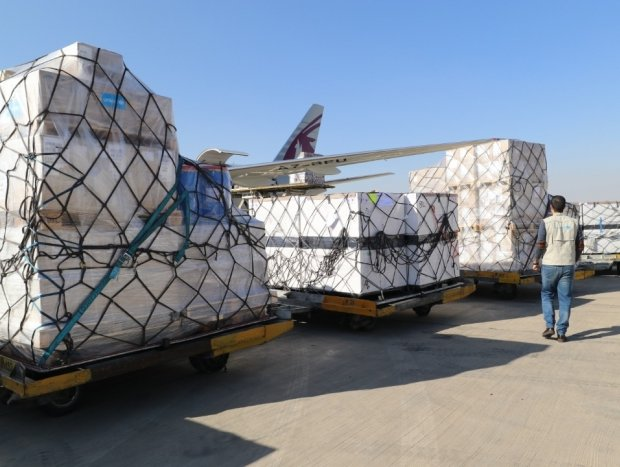 Qatar supports UNICEF by delivering medical supplies to Iran