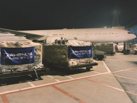 Rhenus delivers 200 million medical items to EU, Asia