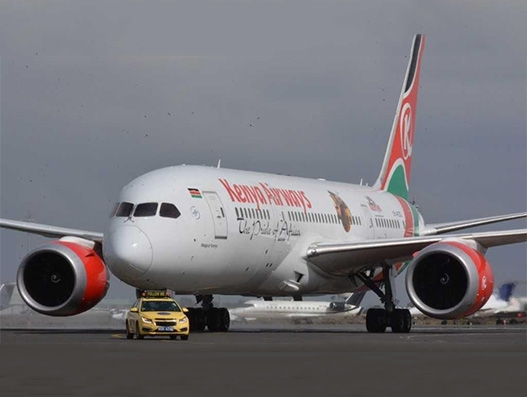 Kenya Airways to start flights to Rome Fiumicino from June this year