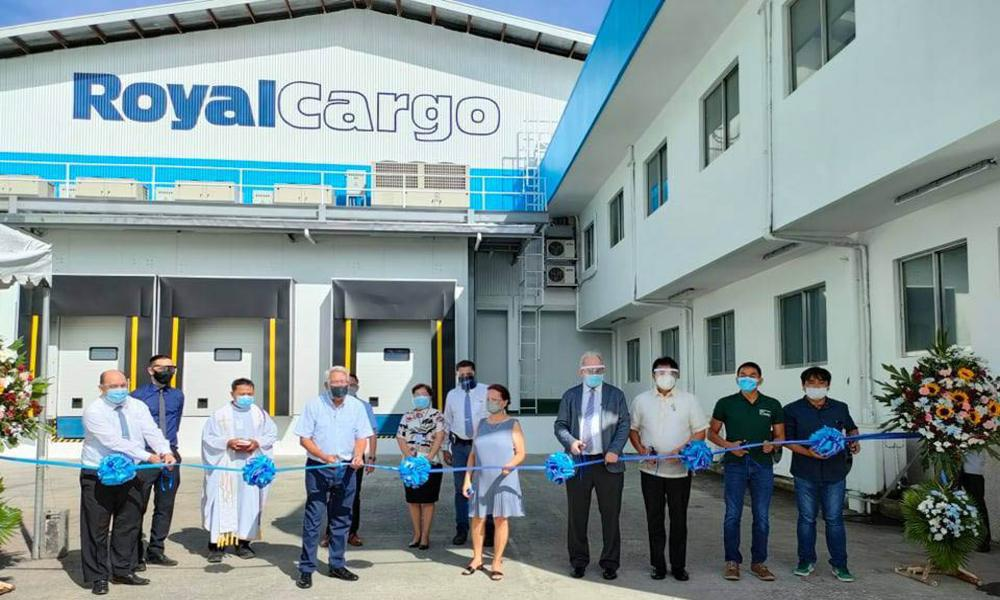 Royal Cargo unveils its new vaccine depot in Philippines