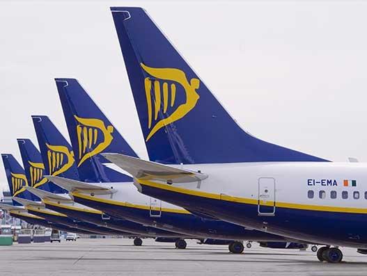 Ryanair reports 6% increase in full-year profit