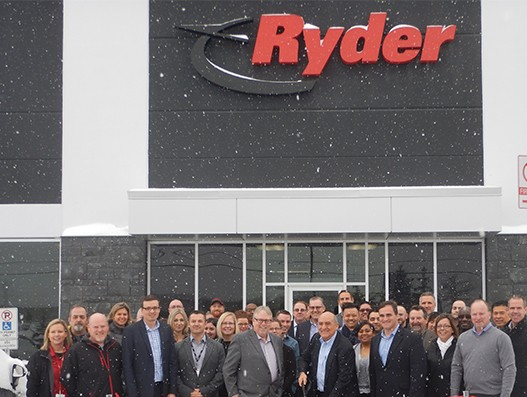 Ryder unveils new logistics hub in London to serve Eastern Canada