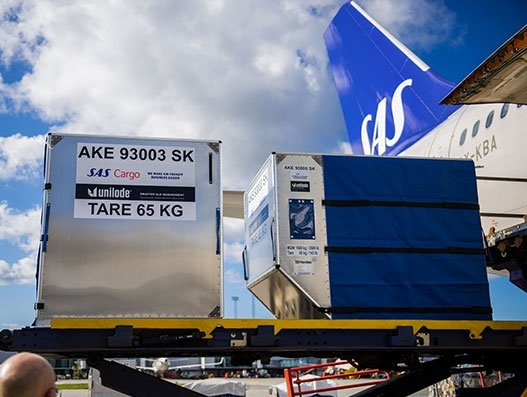 SAS Cargo maintains position as No 1 in the world in delivering air freight quality