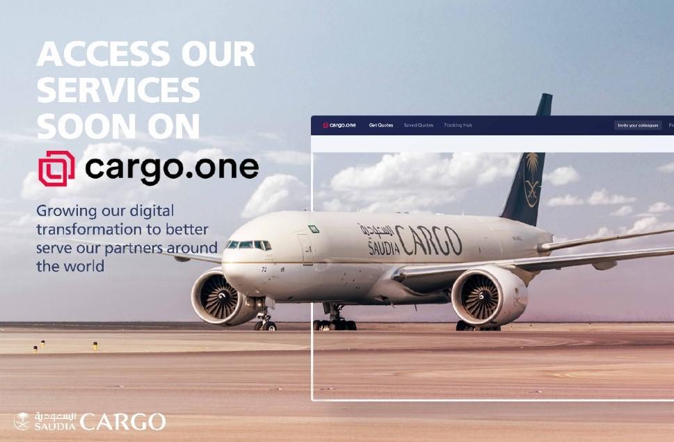 Saudia Cargo joins hands with e-booking platform cargo.one