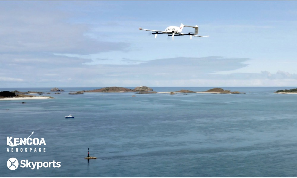 Skyports and Kencoa Aerospace to implement cargo drone deliveries in South Korea