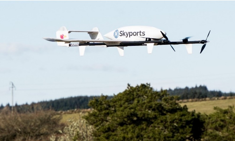 Skyports, Irelandia Aviation become allies for drone deliveries in Columbia