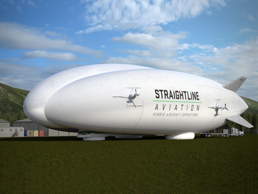 Lockheed Martin's Hybrid Airships to transport ore concentrate and supplies for Quest Rare Minerals