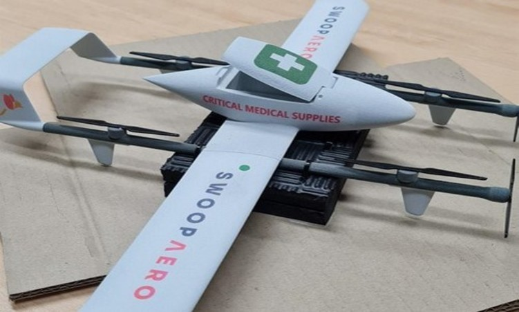 Swoop Aero partners with Iris Automation to offer BVLOS