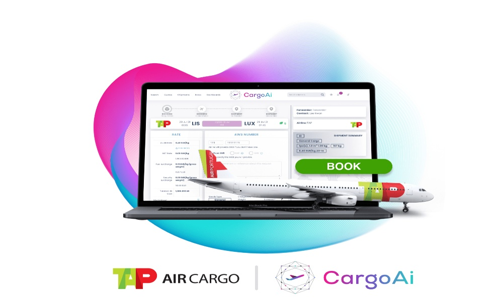 TAP Air Cargo connects CargoAi to deploy its cargo offer worldwide
