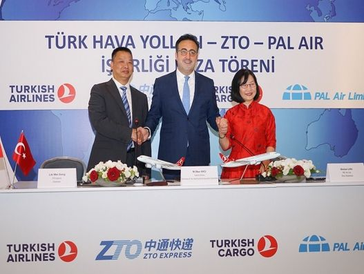 Turkish Airlines, ZTO Express, PAL Air eye global ecommerce market with new JV