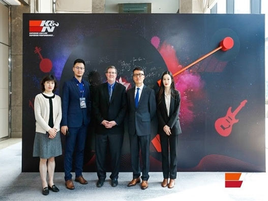 Tigers is strategic logistics partner for K&N Filters in China