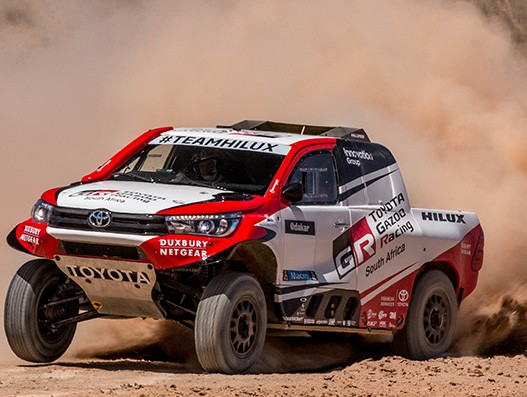 SAA Cargo is air freight partner for Toyota Gazoo racing vehicles