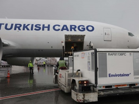Turkish Cargo uplifts 1.7 million doses of Covid-19 vaccines for UNICEF