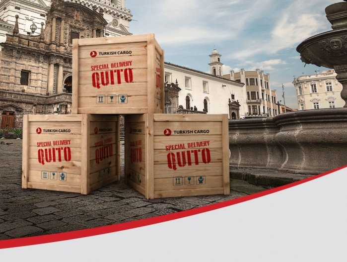 Turkish Cargo extends its network to the capital of Ecuador