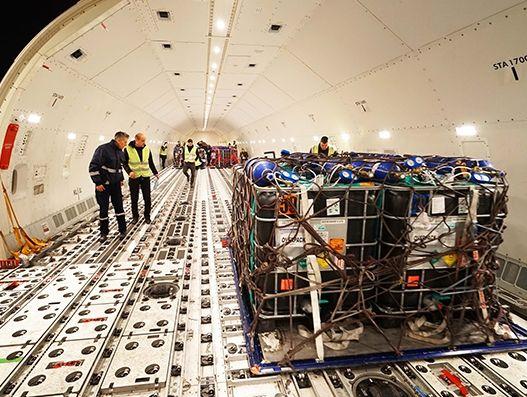 Turkish Cargo transports 1.5 million live fish to Oman from Izmir