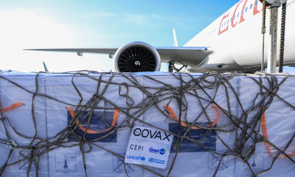 Ethiopian Airlines transports Covid-19 vaccines from Mumbai to Addis Ababa, Beijing to Brazzaville