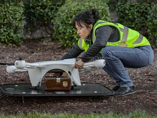 UPS establishes new subsidiary for drone delivery service