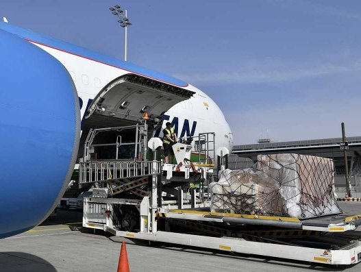 Munich Airport funnelling relief supplies into Germany