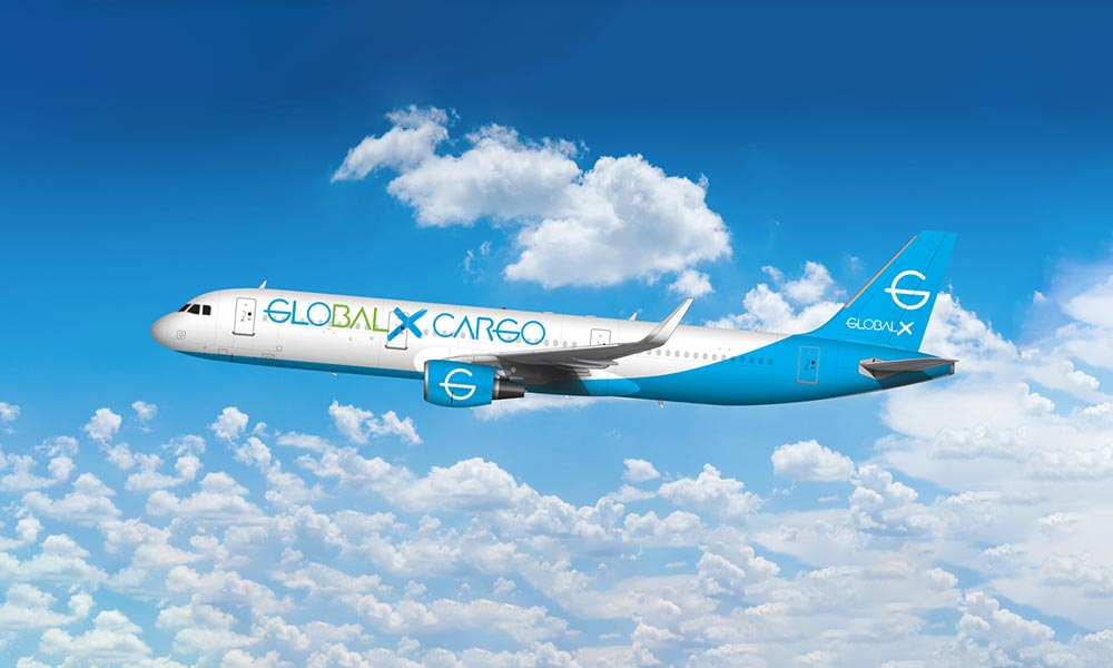 Vallair signs LOI with GlobalX to lease ten converted A321 freighters