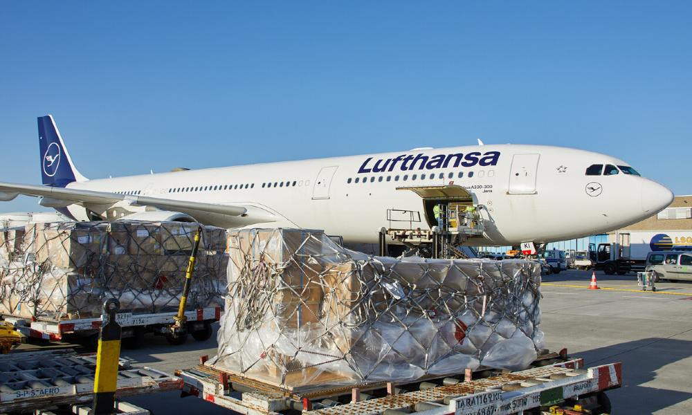 Lufthansa extends cargo handling contract with WFS in Ireland