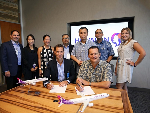 AAR signs component support agreement with Hawaiian Airlines