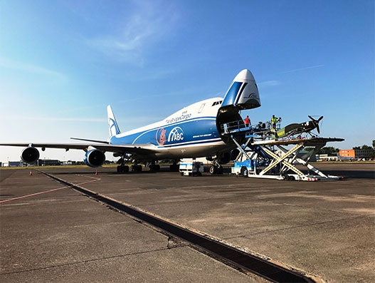 AirBridge Cargo lifts 2 Red Bull Air Race planes from Budapest to Kazan