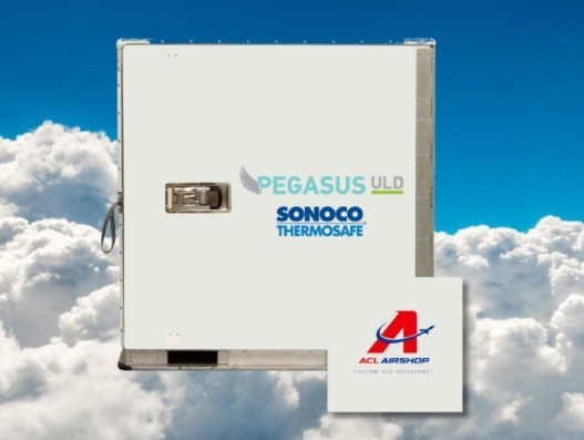 ACL Airshop to handle and repair Sonoco ThermoSafe's Pegasus ULDs