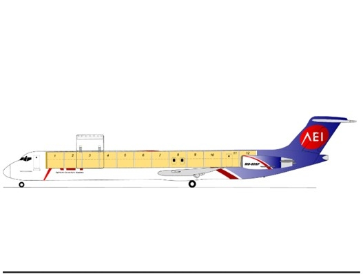 Aeronaves to get three MD-83SF freighter conversions next month
