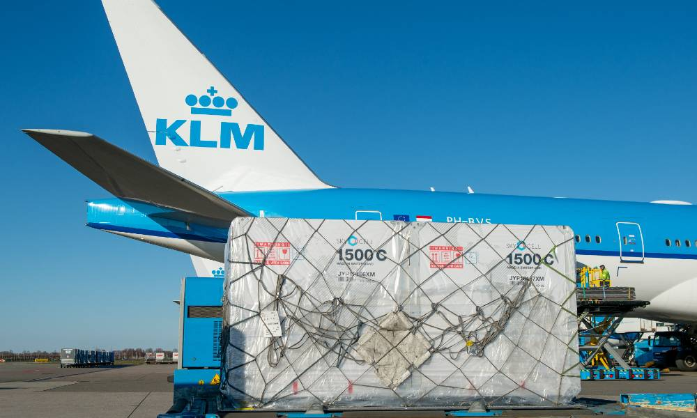 AFKLMP Cargo partners with SkyCell to expand access to hybrid containers
