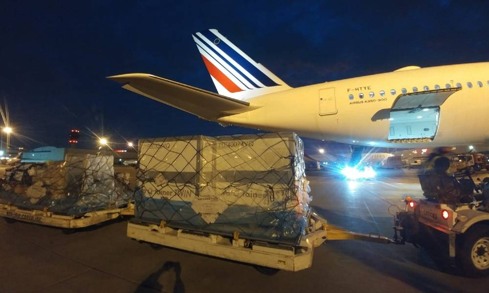 AFKLMP Cargo teams up with va-Q-tec to expand pharma services