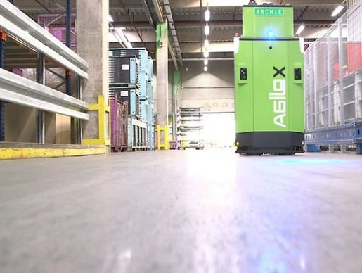 DB Schenker gets an autonomous forklift in Eching