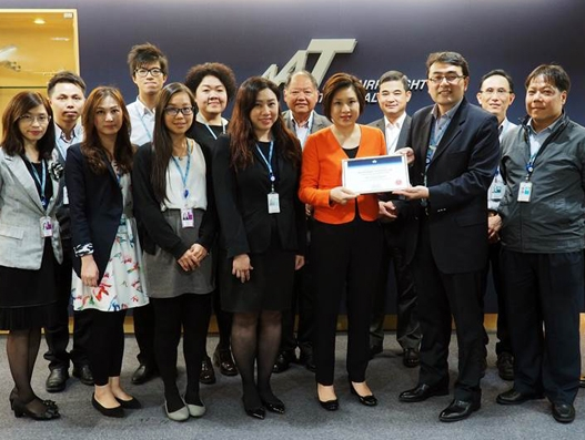 Asia Airfreight Terminal receives pharma certification from IATA
