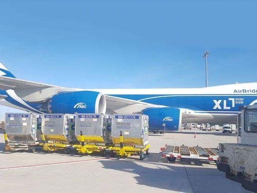 AirBridgeCargo moves 30 tonnes of medicines from Amsterdam to Shanghai