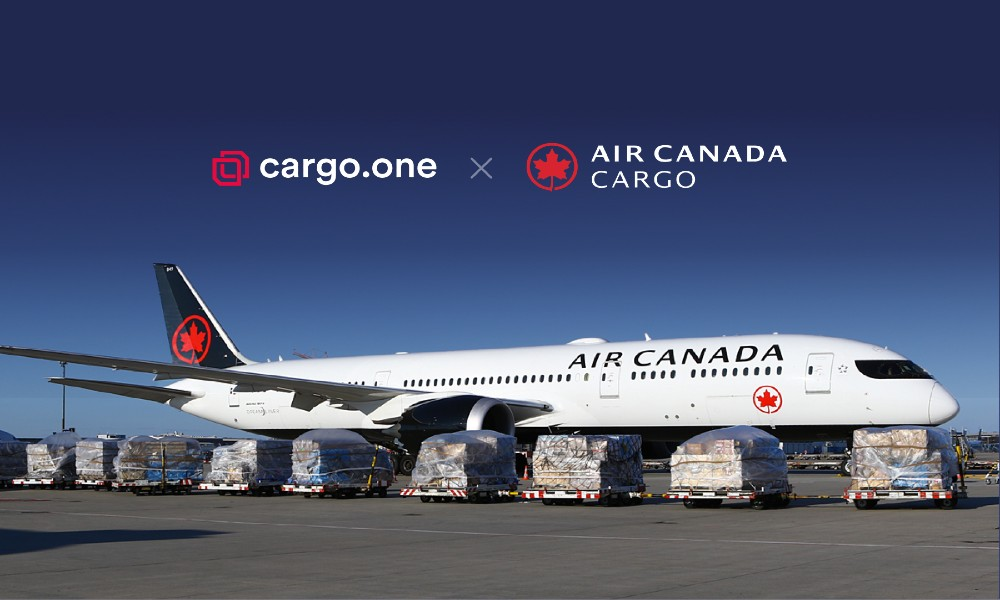 cargo.one will welcome its first North American carrier Air Canada on its leading ebooking platform and deliver on its global expansion strategy.