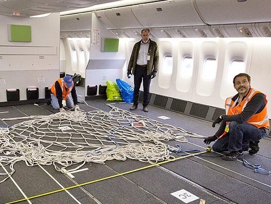 Air Canada is redoing its B777-300ER aircraft cabin for cargo