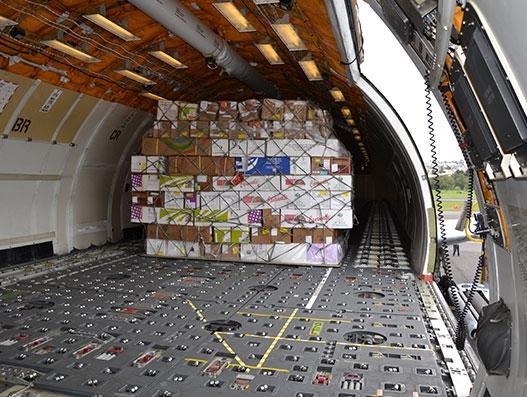 Air cargo sees its peak season ahead of Valentine's Day