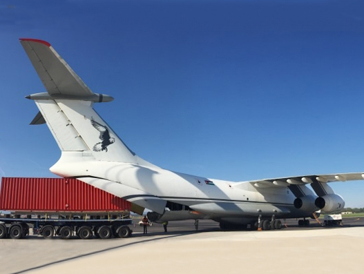 Air Charter Service delivers high cube containers