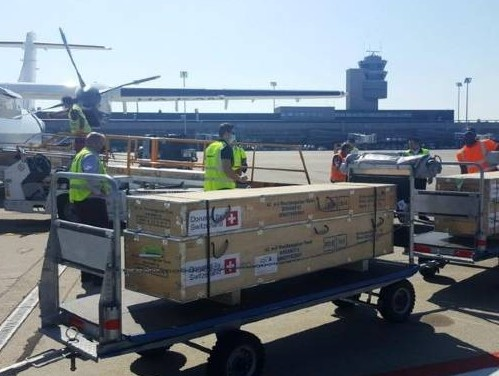 Air Partner help deliver time-critical cargo to the Lesbos refugee camp in Greece