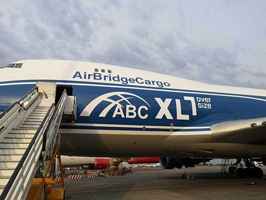 AirBridgeCargo records 10 percent growth in oversized shipments