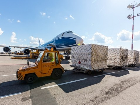 AirBridgeCargo delivers vaccines from Moscow to Frankfurt for UNICEF