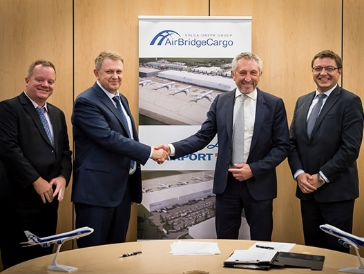 AirBridgeCargo Airlines to set up its European hub at Liege Airport