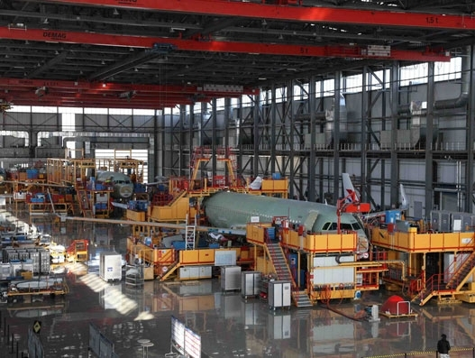 Airbus deepens partnership with China for single aisle production