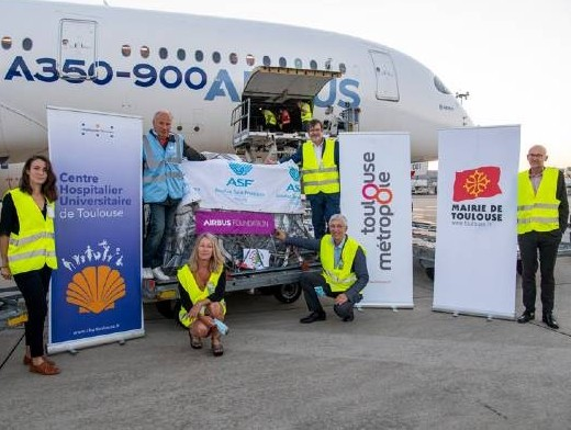 Airbus Foundation, partners deliver humanitarian aid to Beirut