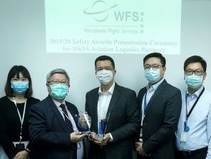 Airport Authority Hong Kong awards WFS with three annual safety awards