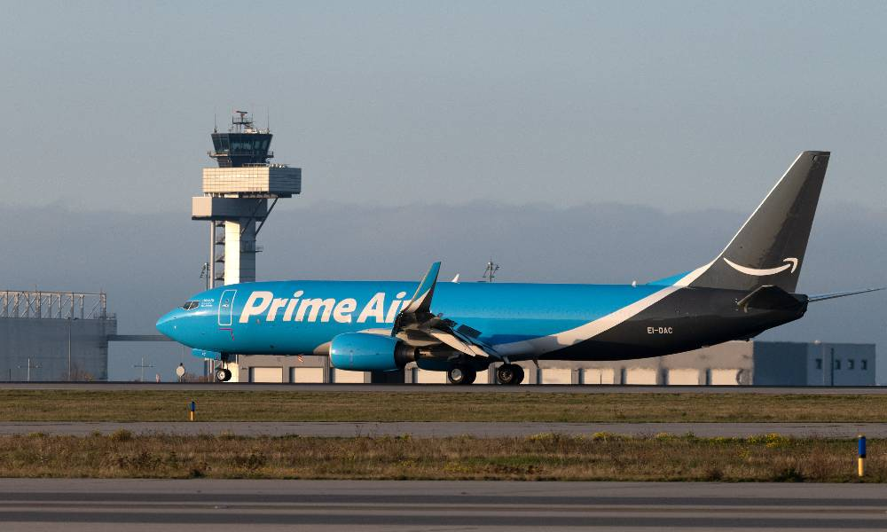 Amazon Air launches operations at Leipzig/Halle Airport