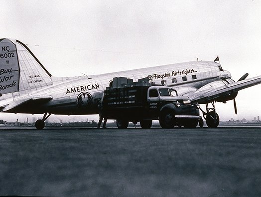 American Airlines completes 75 years of cargo operations