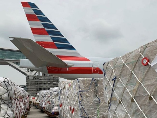 American announces 140 weekly cargo flights to 15 cities in May