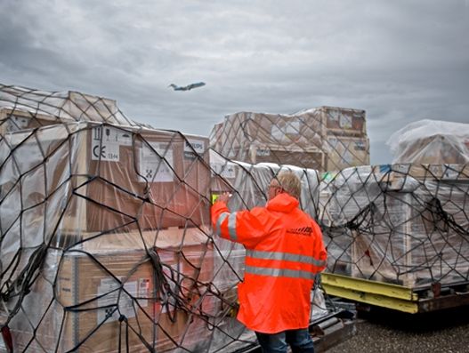 Amsterdam Airport Schiphol records 9.8% increase in cargo volume